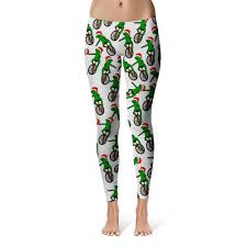 Here Come Dat Boi Frog Christmas Leggings – Shweeet