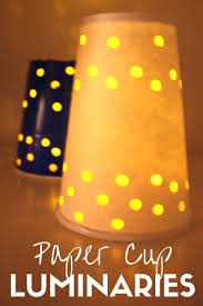 Dixie Cup Lights Paper Cup Luminaries For Kids Winter Solstice Activities