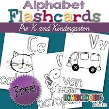 Free Alphabet Flash Cards Printable Alphabet Flashcards For Pre K And Kindergarden
