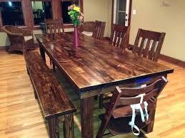 walnut dining room table 8 farmhouse table in vintage dark walnut stain within walnut