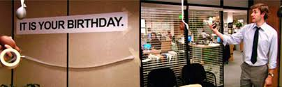 Office Birthday Amazon Com It Is Your Birthday Banner The Office The Office Show