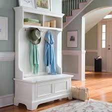 Bench And Coat Rack Set Mudroom Foyer Bench With Storage Kids Hall Tree Storage Bench And 13