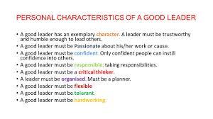 personal characteristics essay essay friend good trait
