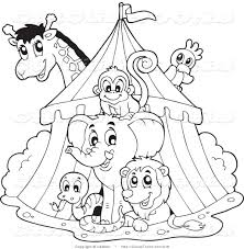 Perfect Circus Coloring Pages 41 With Additional Seasonal