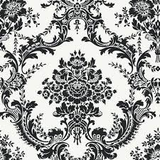 black and white wallpaper damask