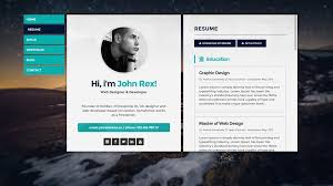 Awesome Personal Website Resume Examples With Personal Resume