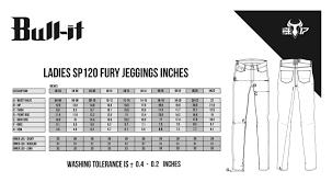 Bull It Jeans Size Chart Bull It Sp120 Lite Fury Jeggings
