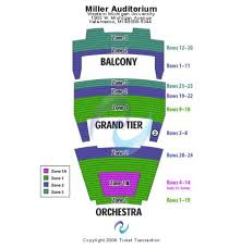 Miller Auditorium Western Michigan University Tickets And