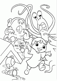 Download Coloring Pages: Monster Inc Coloring Pages Monsters Inc ...