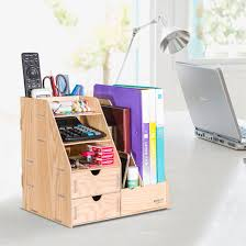 Multiple Magazine Holder Delectable China DIY Wooden Office Storage Box With Magazine Holder D32