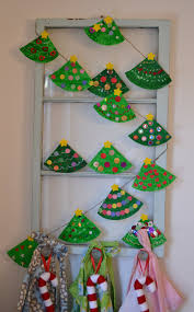 Paper Christmas Tree Ornaments Easy And Cute Diy Christmas Crafts For Kids To Make Hative