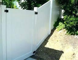 Vinyl fence double gate Slope Double Gate Latch Vinyl Fence Gates Fences System Hinges Hardware Double Gate Latch Vinyl Fence Gates Fences System Hinges Hardware