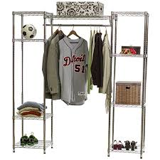 Wire Shelving Closet System w Clothes Rod 18d x 72h