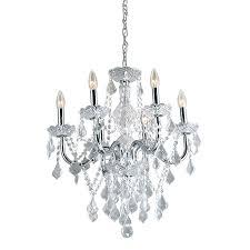 chandeliers 6 light chandelier portfolio 2086 in 6 light polished chrome vintage crystal candle