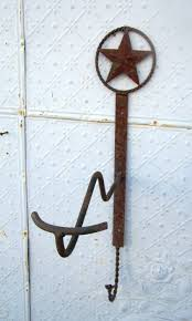Cowboy Coat Rack Wrought Iron Cowboy Hat Hook Coat Rack 61