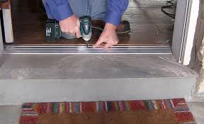 how to remove and replace a threshold