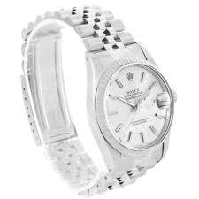 rolex datejust vintage mens steel 18k white gold watch 16014 rolex rolex datejust vintage mens steel 18k white gold watch 16014