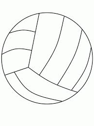Small Picture Free Printable Volleyball Coloring Pages For Kids