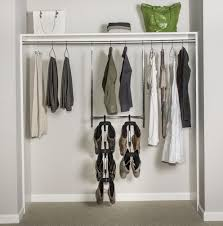 how to hang closet rod without studs