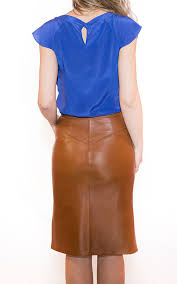 pencil leather skirt 2