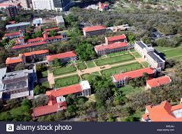 rice university campus aerial. Exellent University Aerial Of The Rice University Main Campus  Stock Image On Campus