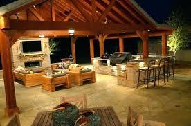 outdoor kitchen lighting. Outdoor Kitchen Lighting Modern Counter . R