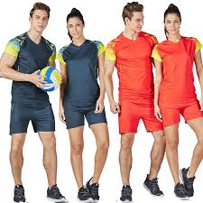 Free Shipping <b>2019</b> New <b>Sports suit Men</b> and Women's volleyball ...
