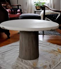 coffee table leg ideas luxury lovely ideas concrete round coffee table diy best home design of