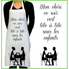 Tablier De Cuisine Rigolo Tête à Tête Cadeau Rigolo Femme