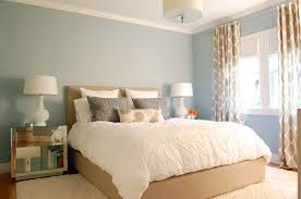 contemporary master bedroom with flush light west elm organic cotton pintuck duvet cover shams