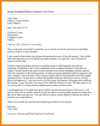 8 Software Engineer Cover Letter Collection Of Solutions Cover