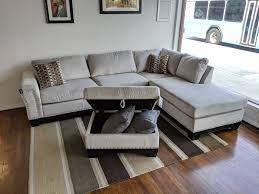 Light Grey Velvet Sectional Light Grey Velvet Sectional Furniture Outpost