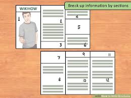 How To Write Brochures 12 Steps With Pictures Wikihow