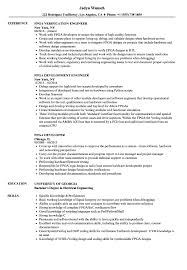 Fpga Design Engineer Resume Fpga Resume Samples Velvet Jobs