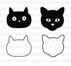 cat face clipart.  Cat Image 0 On Cat Face Clipart C