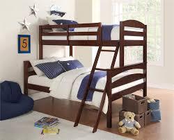 Dorel Living | Dorel Living Brady Twin over Full Wood Bunk Bed Frame ...