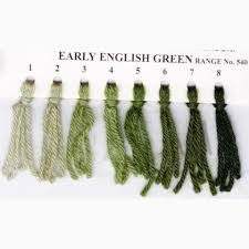 Crewel Wool Early English Green 542