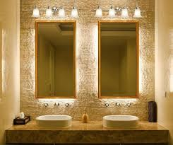 ideas for bathroom lighting. image 8 of 15 from gallery amazing bathroom light fixture ideas fixtures with white vessel sinks and rectangle doule mirrors vintage for lighting