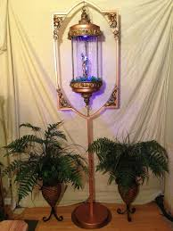 oil rain lamp with stand by steampunk by steampunksteeles on 3000 00