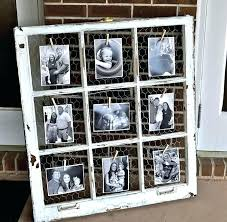 ideas for old picture frames without glass