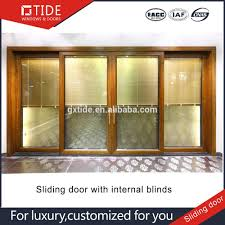 sliding door internal blinds. Berat Lift Sliding Pintu Dengan Internal Blinds,Aluminium Clad Contoh Kayu - Buy Product On Alibaba.com Door Blinds