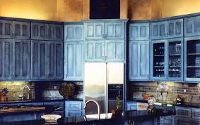 Blue Green Kitchen Cabinets Scenic Rustic Blue Kitchen Cabinets Pure Blue Country Kitchen