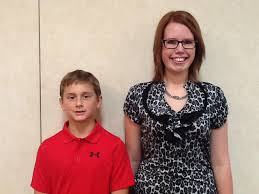 beulah grand forks reynolds students win why i love my  isaac emineth emily severinson of reynolds
