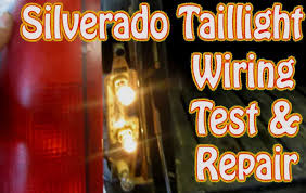 2000 chevy silverado wiring diagram wiring diagrams 2000 chevy silverado wiring diagram diy chevy silverado gmc sierra taillight repair how to test and