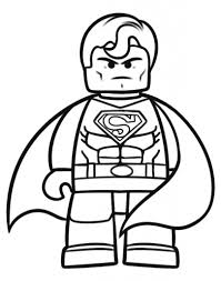 Lego Marvel Superheroes Coloring Pages Superhero Coloring Page ...