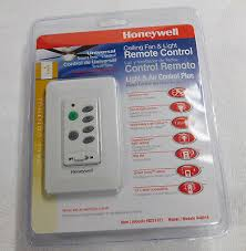 honeywell in wall universal ceiling fan light remote control new sealed
