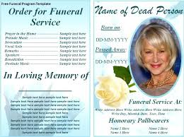 Free Funeral Card Template Awesome In Loving Memory Template Free