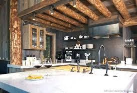 cabin kitchen design. Modren Cabin Kitchen Rustic Cabin Kitchens Log Innovative Ideas Home Pictures  Design World Map In D
