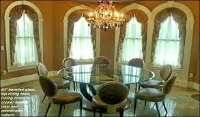 60 inch round glass table top amackenzie info pertaining to dining idea 13