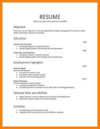 how to build a job resumes 6 job resume image hd edu techation